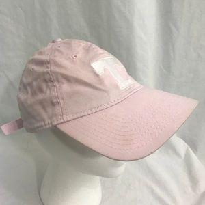 Captivating Headgear University of Kansas Jayhawks Womens Pink Visor
